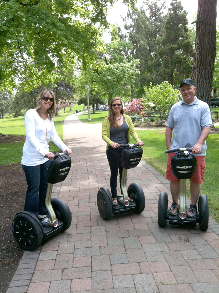 A Segway tour from the Bend Tour Company is a fun, unique way to see the city.