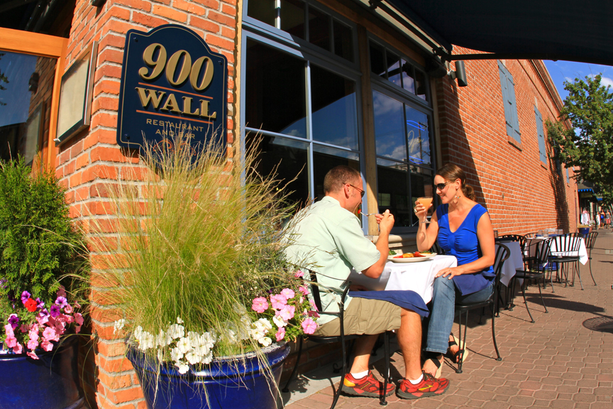 This is about as dressy as you need to get in Bend -- even when dining out at a nice restaurant.