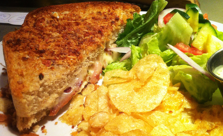 The Grilled Cheesy from Crux Fermentation Project. It'll change your life, I swear.
