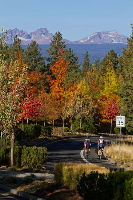 No matter where you choose to ride in Bend, you're bound to see something beautiful.