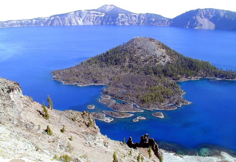 Beautiful Crater Lake.