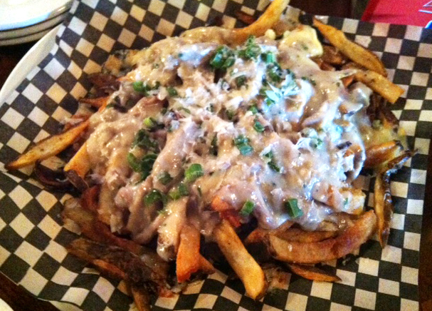 Admittedly, it's not pretty. But the Dave Semnek Poutine at Hideaway Tavern – complete with duck gravy and cheese curd – is totally to-die-for.