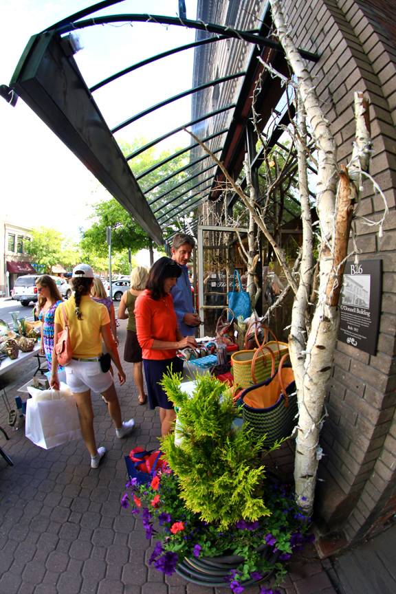 You'll find both indoor and outdoor shopping in historic Downtown Bend.