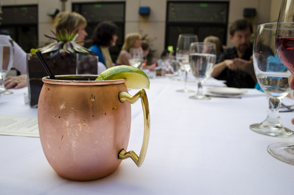 The copper cup isn't the only thing the makes the Moscow Mule a great choice at Jackalope.