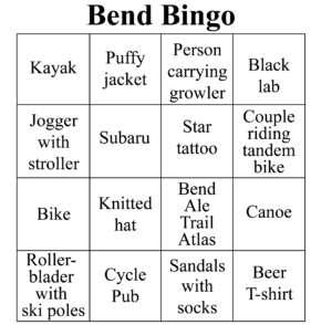 BendBingo