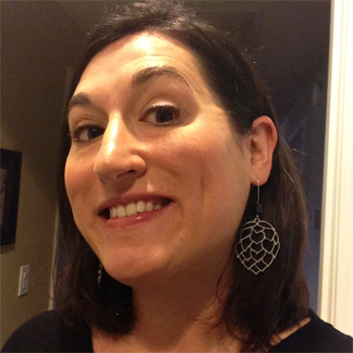 Lindsay Landgraf of Worthy Brewing loves her hop-inspired earrings from Hop Jump.