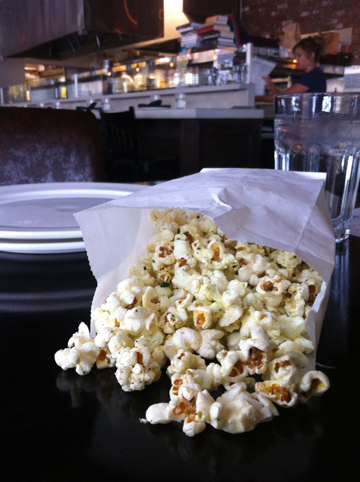 This is no ordinary popcorn! The herbed popcorn at Drake offers a tasty and FREE treat for diners and drinkers at the restaurant.