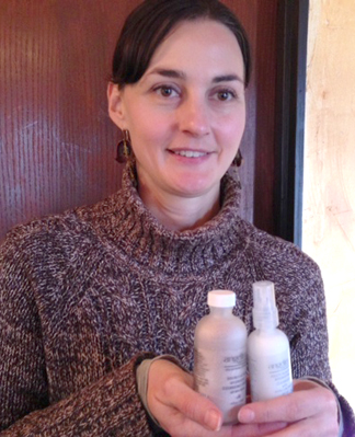 Valerie Warren shows off her favorite products from Angelina Organic Skincare.