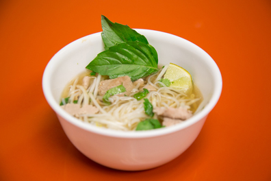 This is just a small portion of the whopping amount of Pho you get with a simple order from Sweet Saigon.