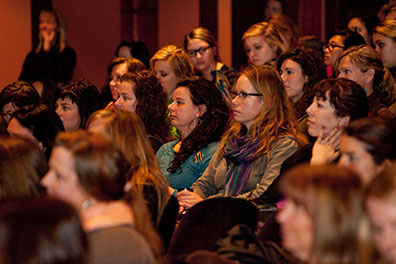 Crowds of women enjoy last year's Muse Conference in Bend.