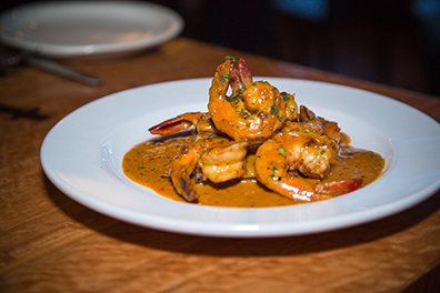 Even if you're not a gluten-free eater, the barbecue shrimp at Zydeco are ah-may-zing!