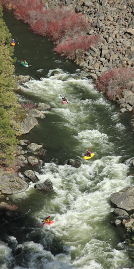 Scenes from the River Rendevous event on the Deschutes River.