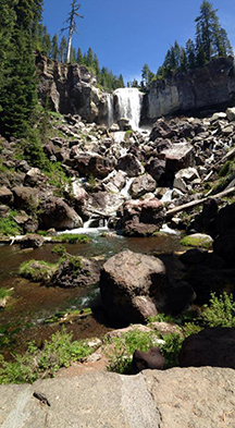 12-year-old Cedar captured this lovely pic of Paulina Falls.