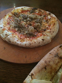 Don't miss the maple fennel pizzetta at Flatbread Community Oven.