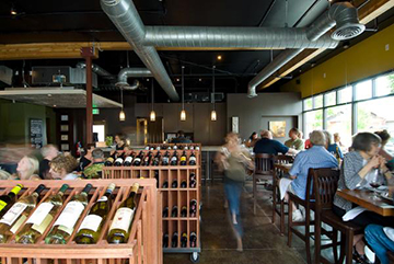 Portello Winecafé in Northwest Crossing is a great spot to get your vino on.