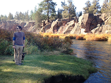 Scenes from scenic Tumalo State Park on the bank of the Deschutes River.