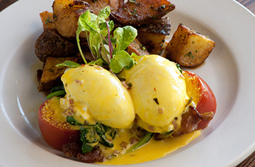 The blackstone benedict at Chow is a darn good reason to get up early.