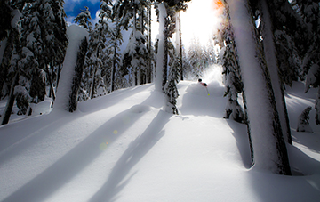 Skiing at Mt. Bachelor can be fabulous in the spring and fall.