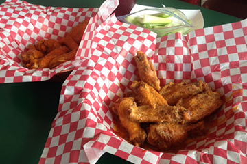 You'll have tons of variety to choose from at Hardy's Hotwings and Hamburgers.