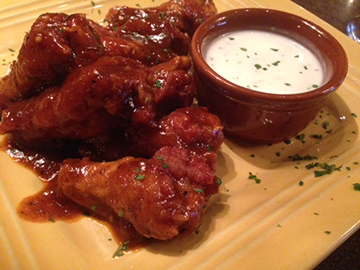 The secret sauce on the camel wings at Joolz will leave you licking your fingers.