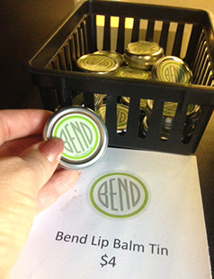 Forgot your lip balm? We've got a great one for sale at the Bend Visitor Center on the corner of Lava & Oregon.
