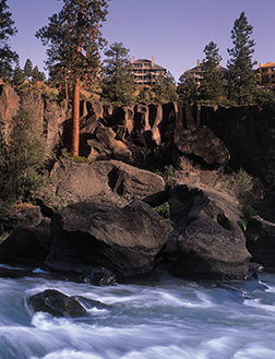 Oodles of Bend lodging properties (like Mount Bachelor Village, shown here) offer special Bend Ale Trail packages.