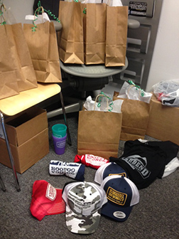 Just a small sampling of the brewery schwag you'll have a chance to win by using hashtag #bendaletrail during Bend Ale Trail month.