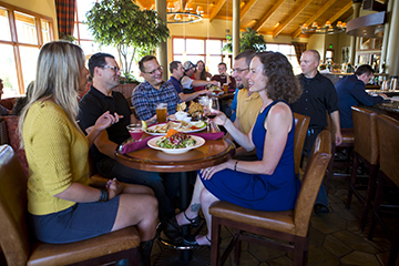 Dining and shopping in the Old Mill District is a great way to spend some time in Bend.