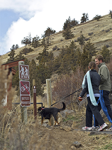 Your dog called. He wants you to blow off work and take him for a walk up Pilot Butte in Bend.