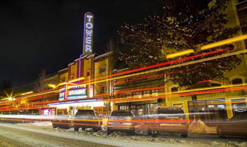 Soak up some arts and culture at Bend's iconic Tower Theatre.
