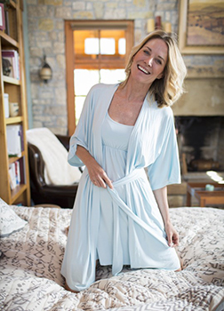 The Bamboo Dreams nightie I already own, paired with the robe I really want for Christmas.