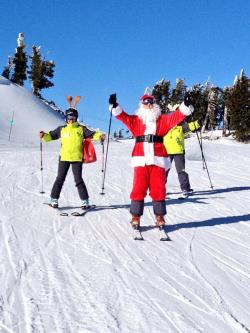 Don't miss Santa on the Slopes this Thursday at Mt. Bachelor.