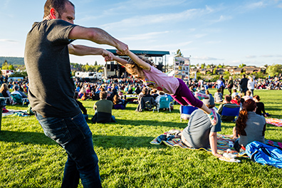 Many concerts at the Les Schwab Amphitheater are family-friendly!