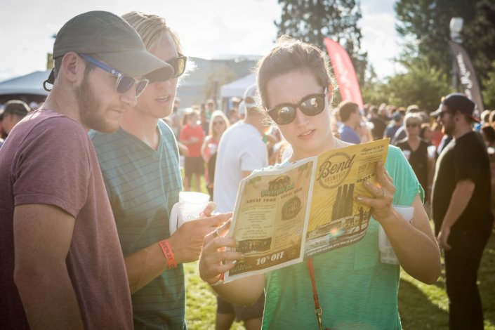 Study your Brewefest program well before you have a single sip.
