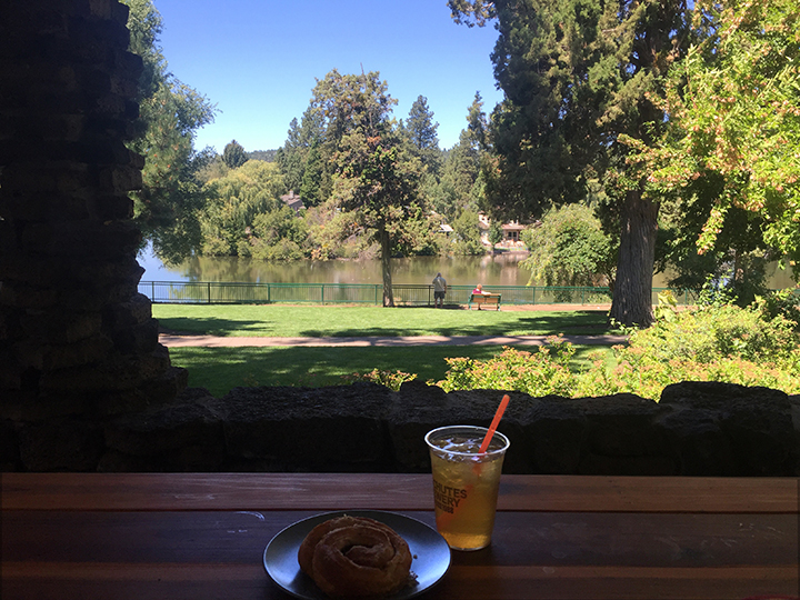 The Ocean Roll and iced tea are nice, but the views are downright amazing at Crow's Feet Commons.