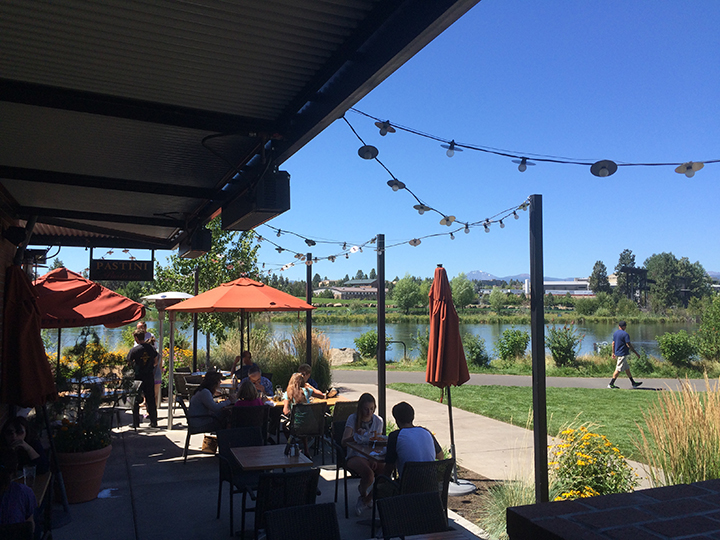 Bend has oodles of great spots to dine outdoors this time of year.