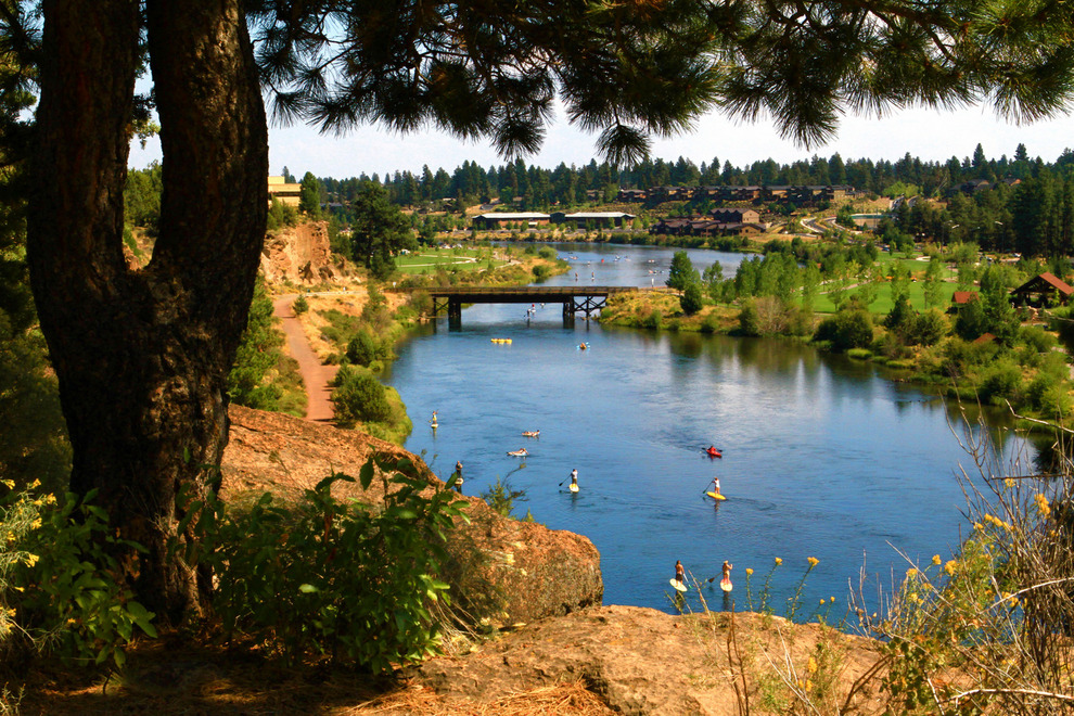 September is a great time to play on the Deschutes River in Bend.