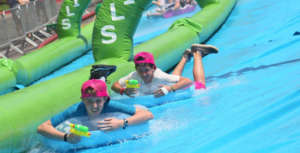 Now's your chance to try the largest slip-n-slide ever to hit Bend.