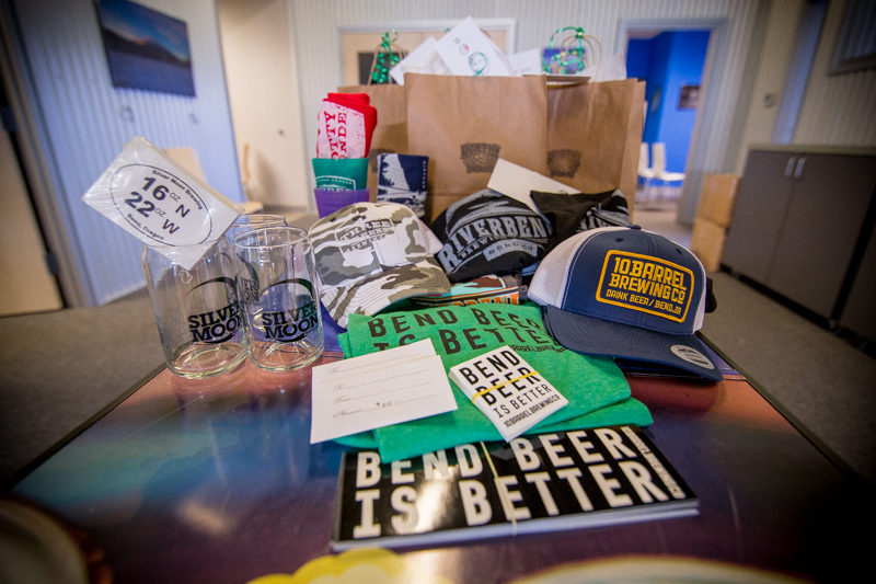 We're drowning in beer schwag in the Visit Bend office. Want some?