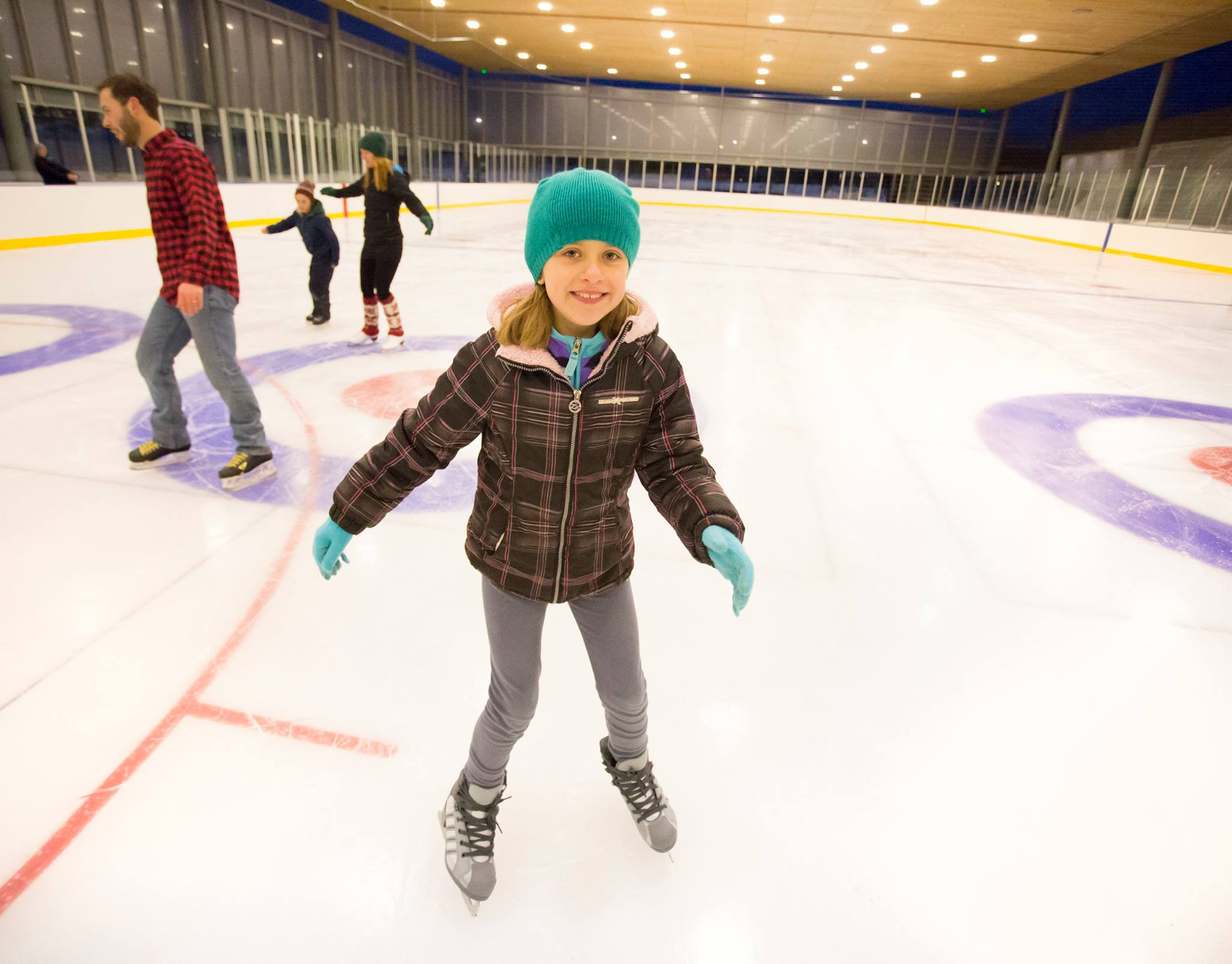 Bend's new ice rink, The Pavilion, opens Dec. 28, 2015.