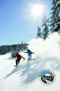 A snowshoe outing with Wanderlust Tours can be a treat for the whole family.
