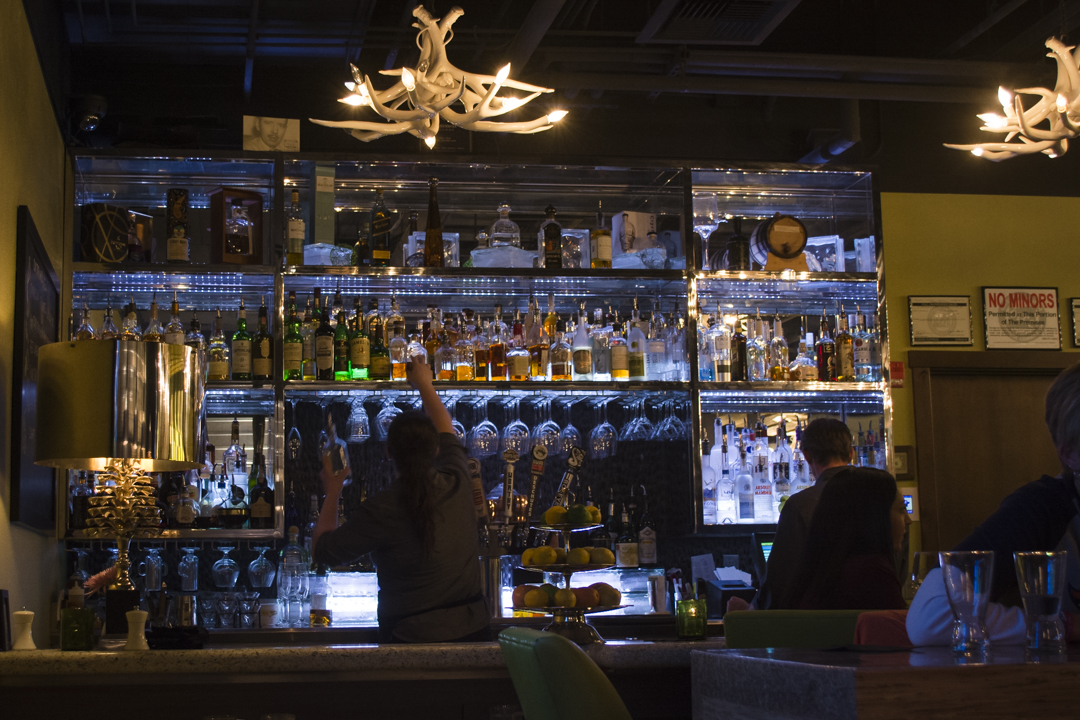 You'll love the swanky vibe and killer cocktails at 10 Below.