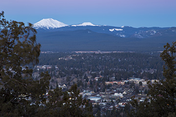 Hiking to the top of Pilot Butte (especially near sunrise or sunset) is a great way to see killer views of the whole city.