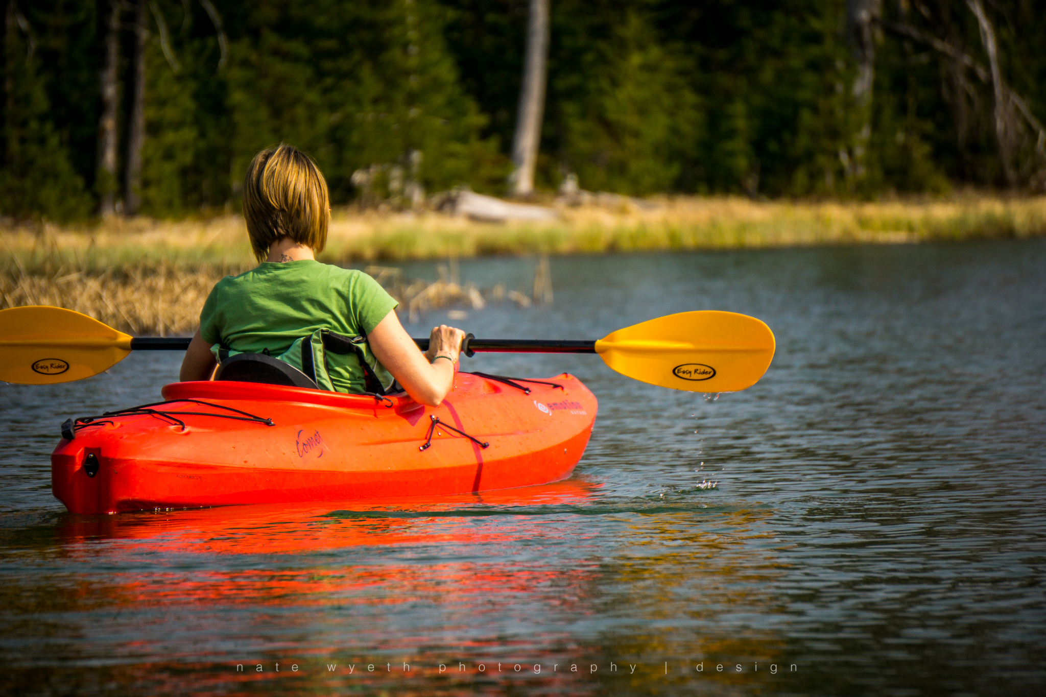 Spring can be a great time of year to kayak in Bend.