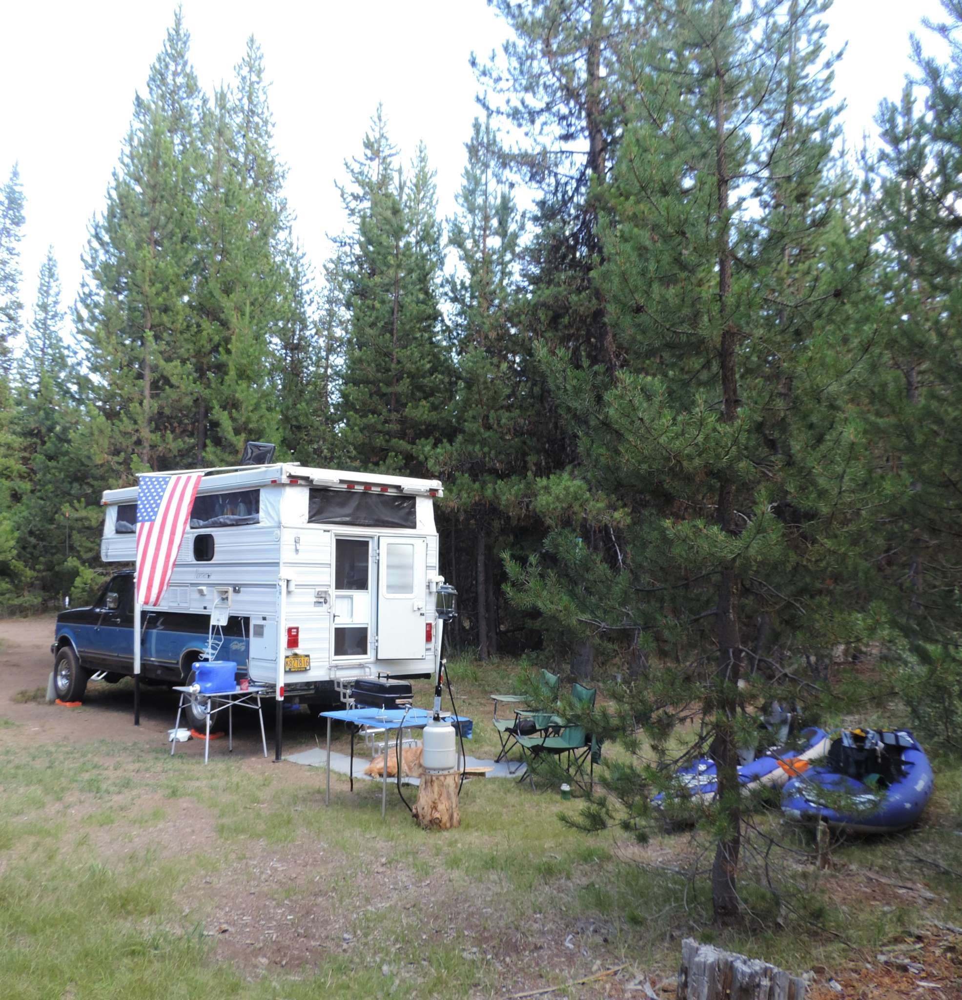 Linda and her husband know how to do dispersed camping right!