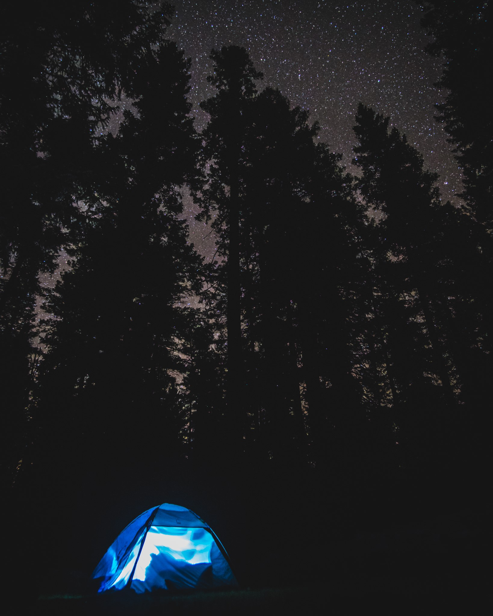 Nate Wyeth always takes the best camping pictures, especially at Wyeth Campground.