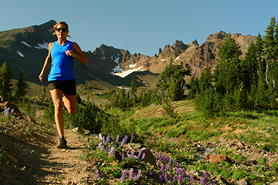Enjoy Bend's wildflowers from the trail, and resist the urge to squish them.