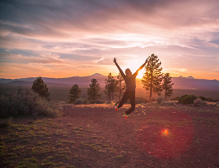 Sunsets in Bend are something to celebrate, especially in summertime.