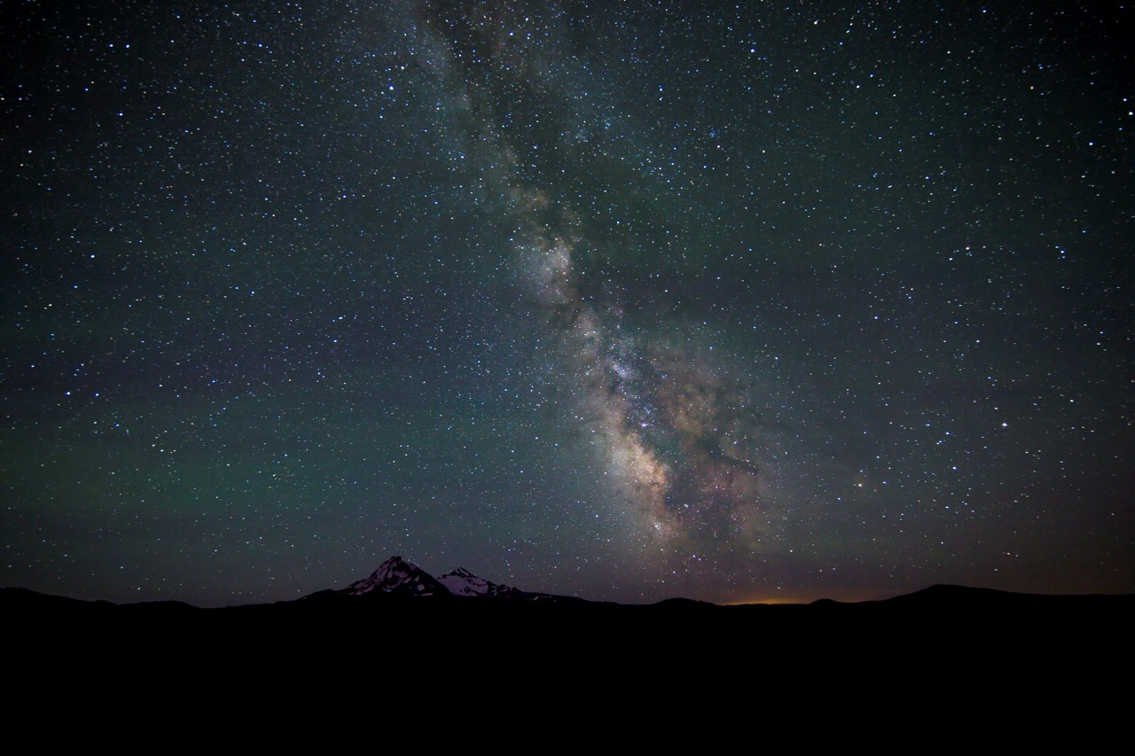 Stargazing in Central Oregon is the stuff of magic. Photo by Nate Wyeth Photography
