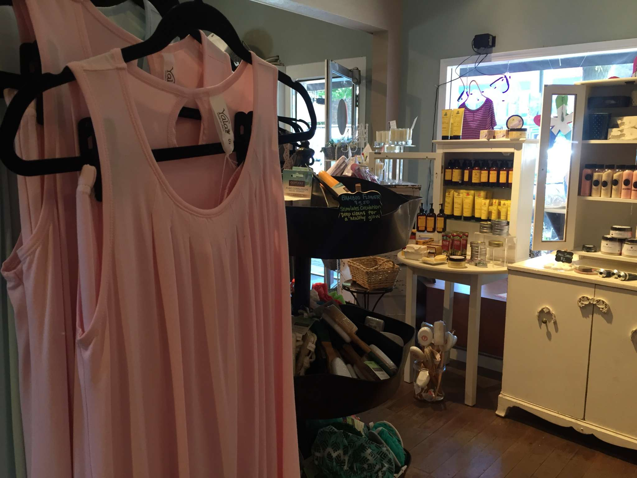 Yala Bamboo sleepwear from Oregon Body & Bath is essential for a relaxing Bend vacation.